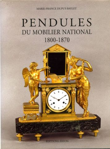 Pendules du Mobilier national 1800-1870, 2006