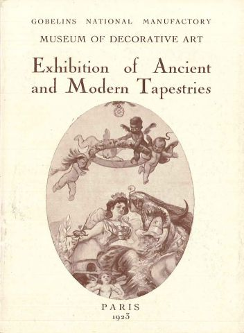 Exhibition of ancient and modern tapestries, 1923