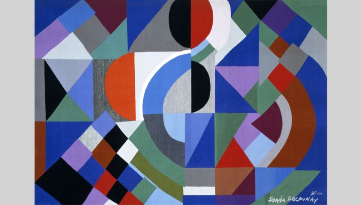 Mobilier national Tapisserie Sonia Delaunay
