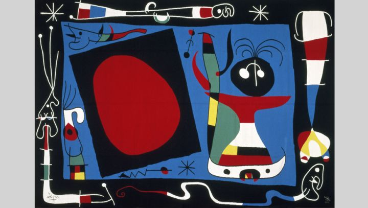Mobilier national Tapisserie Joan Miró